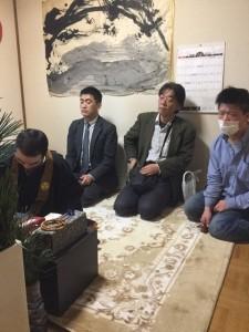 東日本大震災追悼法要 1